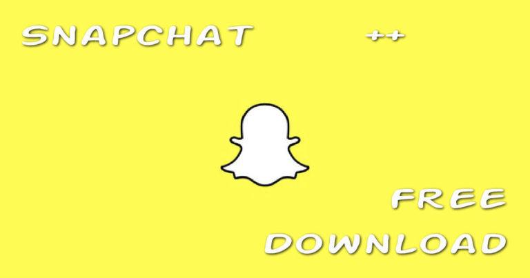 Download snapchat++ (plus) IPA 2018 free [iOS, Andrid, iPhone, pc]
