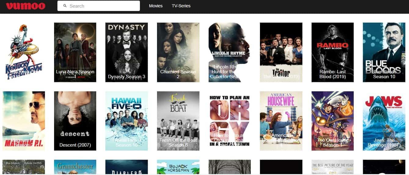 Vumoo - free movies online
