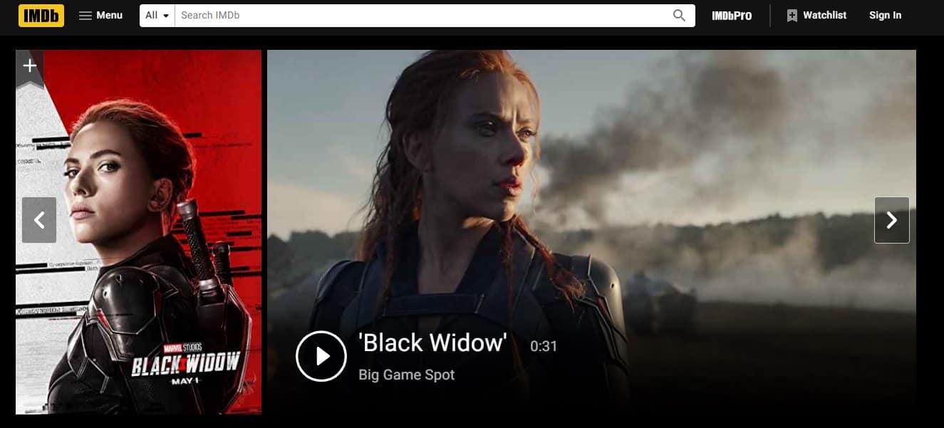 IMDB TV - free movies online streaming website