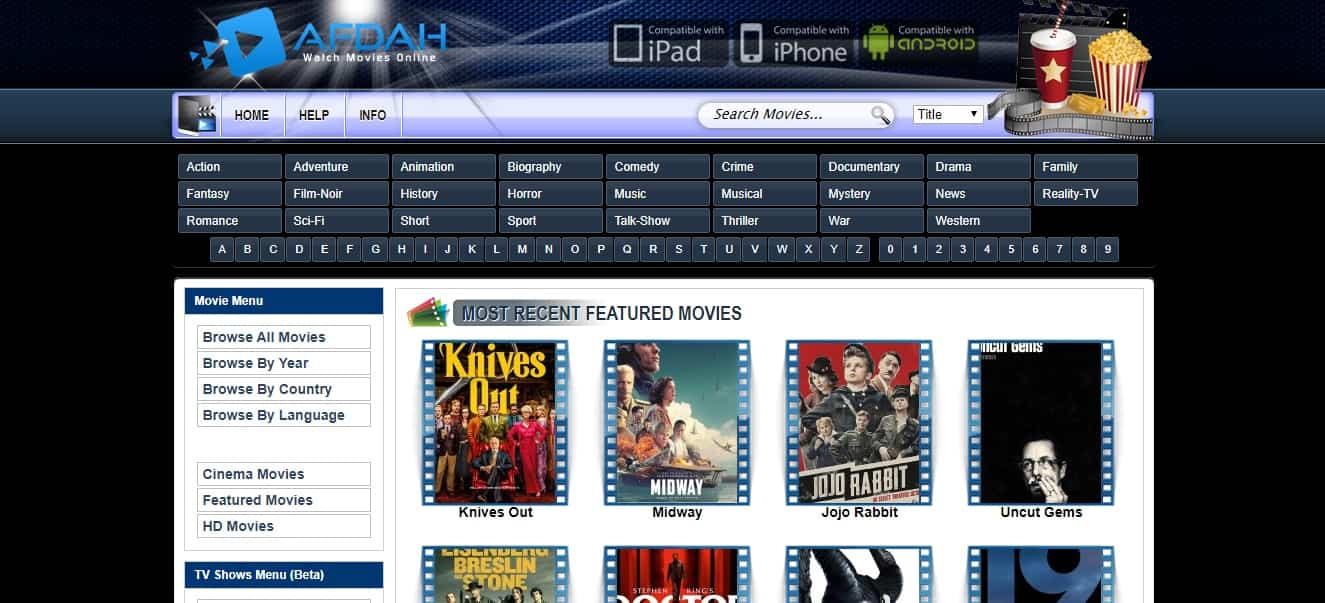 Afdah is the right choice for you to watch the best HD movies for free