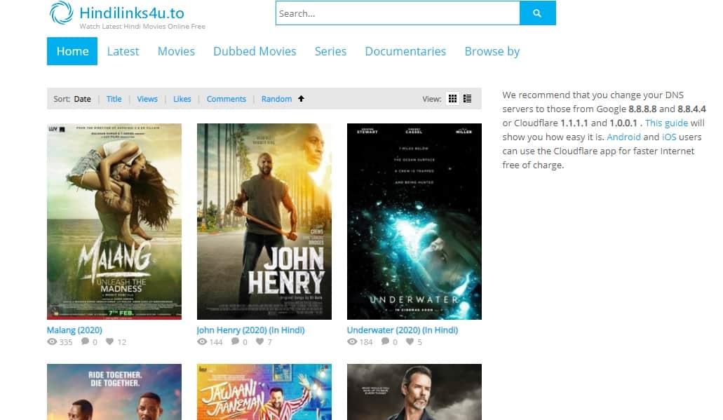 Hindilinks – Free Hindi Movies