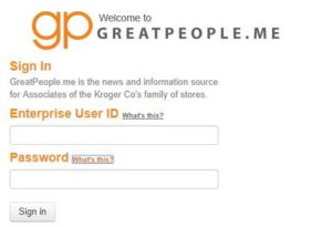 Greatpeople Me kroger login Employee portal