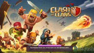 تحميل لعبة كلاش اوف كلانس مهكرة 2020 clash of clans