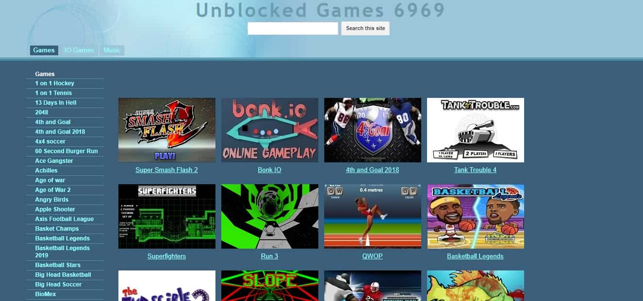 The Best Free Unblocked Games Sites You Can Play at School [20]