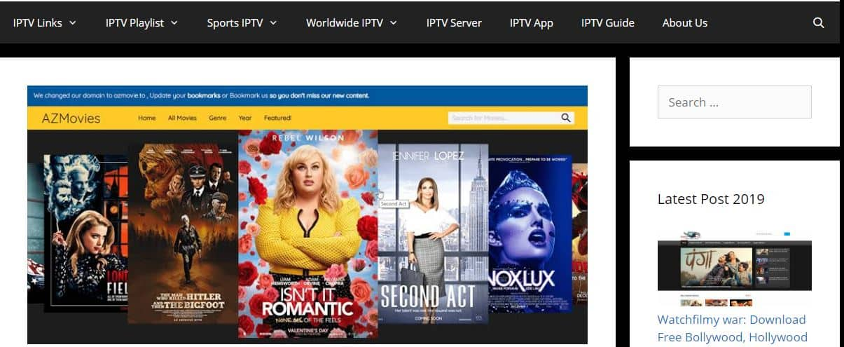 AZ Movies.xyz is a site that allows you to watch various movies for free without registration