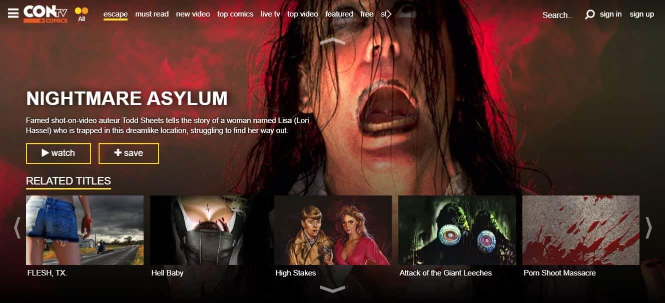 contv browse movie