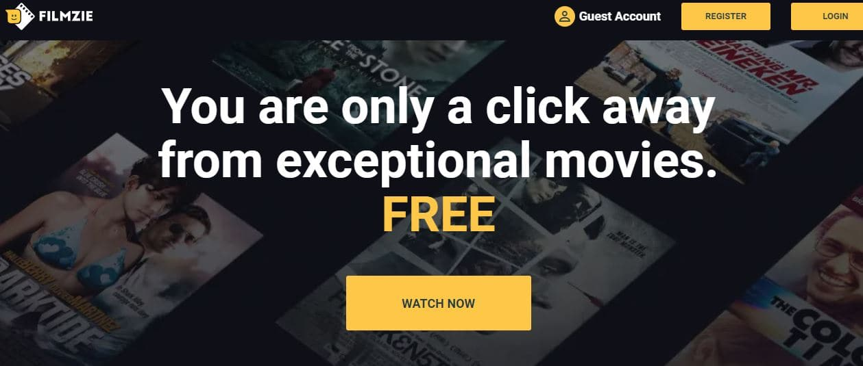 Filmzie - Free Online Movie Streaming Site