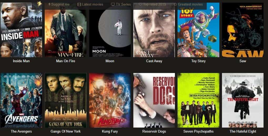 Watch Free Movies Online on movininja