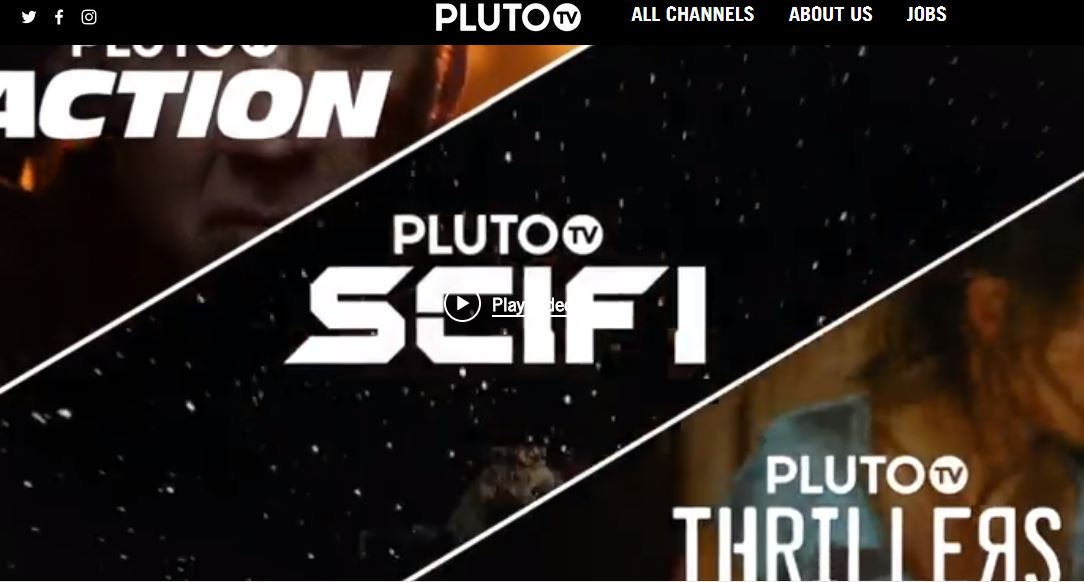 plutotv is one of the best free movie streaming sites