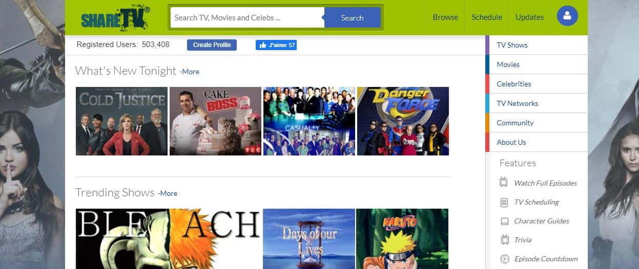 sharetv - the best movies and classic programs that you can watch for free.