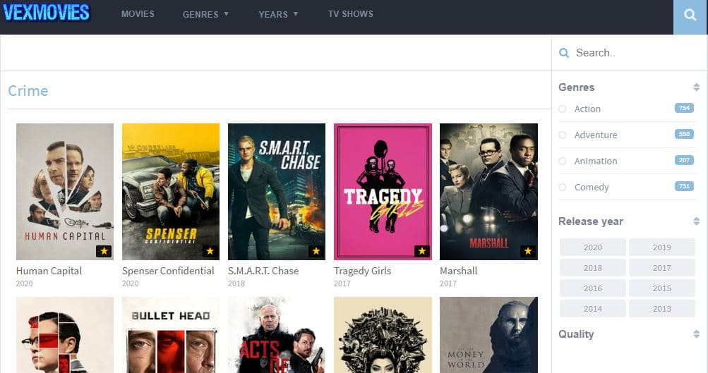 VexMovies will soon be famous for its ad-free movies