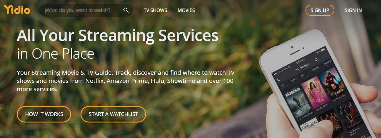 Watch Free Movies Online on yidio