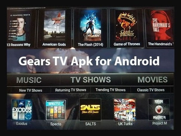 Gears Tv Apk Download Free the Latest Version for Android