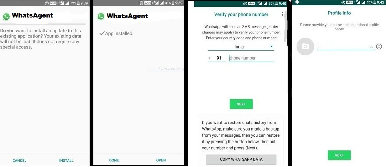 How To Install WhatsAgent Apk For Android