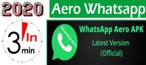 Download Whatsapp Aero Apk the Latest Version For Android
