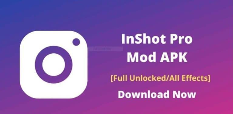 Download InShot Pro APK 2021 (Unlock Premium) for Android, iOS, PC