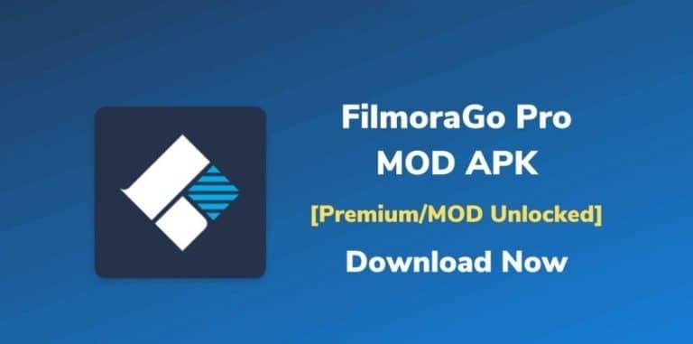 Download FilmoraGo Pro MOD APK 2021 (Unlocked Premium) for Android