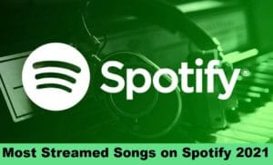 Most Streamed Songs | Album | Artists | Tracks on Spotify Worldwide 2021