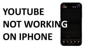 How to Fix My YouTube Not Working on iPhone & iPad & iOS 11, 14