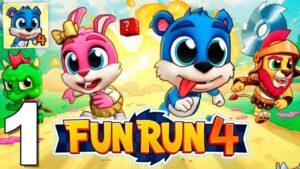 Fun Run 4 MOD APK (Unlimited Coins, Gems, Money) Latest Version