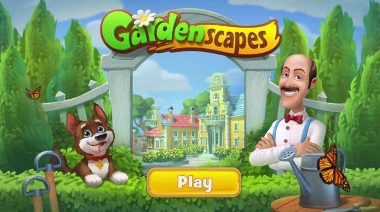 Gardenscapes MOD APK Download (Unlimited Stars, Coins, Money)