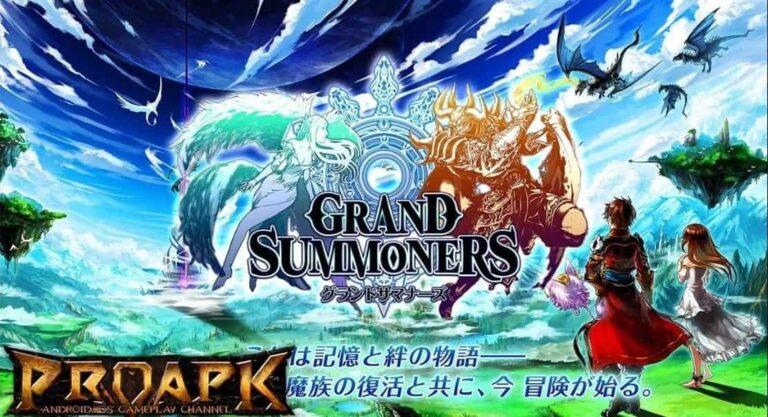 Grand Summoners MOD APK (Unlimited Crystals, Gems, God Mode)
