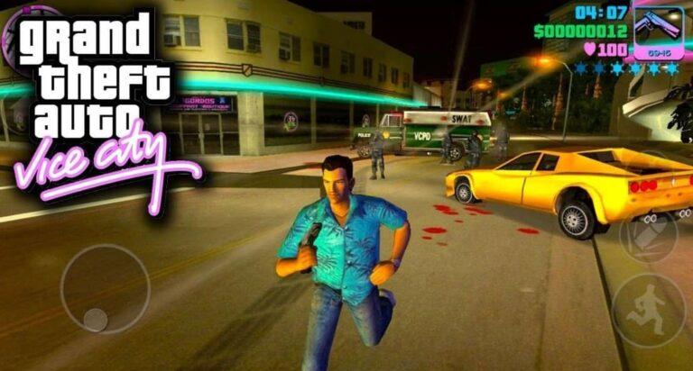 GTA Vice City MOD APK + OBB (Unlimited Health, Money, Ammo)