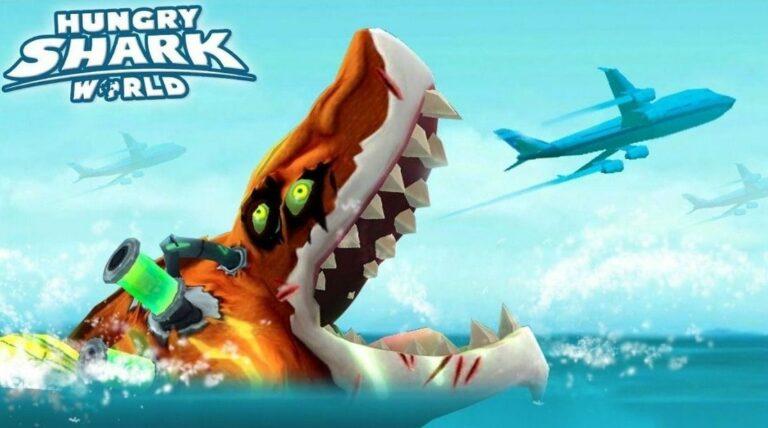 Hungry Shark World MOD APK (Unlimited Coins, Diamonds, Gems)