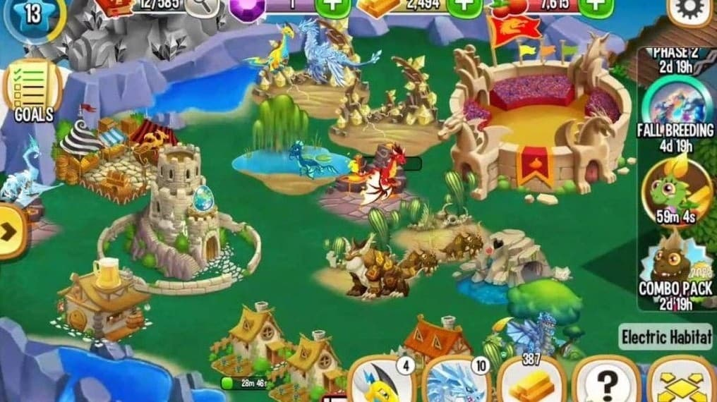 Download Dragon City MOD APK (Unlimited Gems and Money and Food) Latest Version 2021
