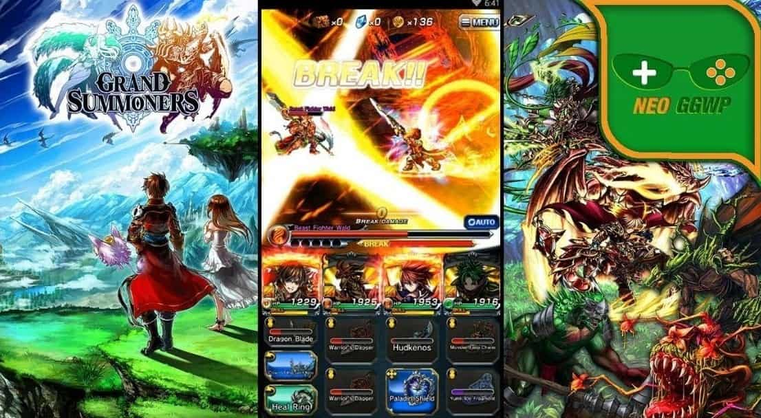 Download Grand Summoners MOD APK (Unlimited Crystals, Gems, God Mode) Latest Version 2021