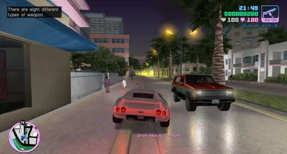 Download GTA Vice City MOD APK (Unlimited Money, Ammo, Helth) Latest Version 2021