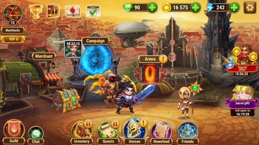 Hero Wars MOD APK Unlimited Everything 2021 Download (Latest Version)