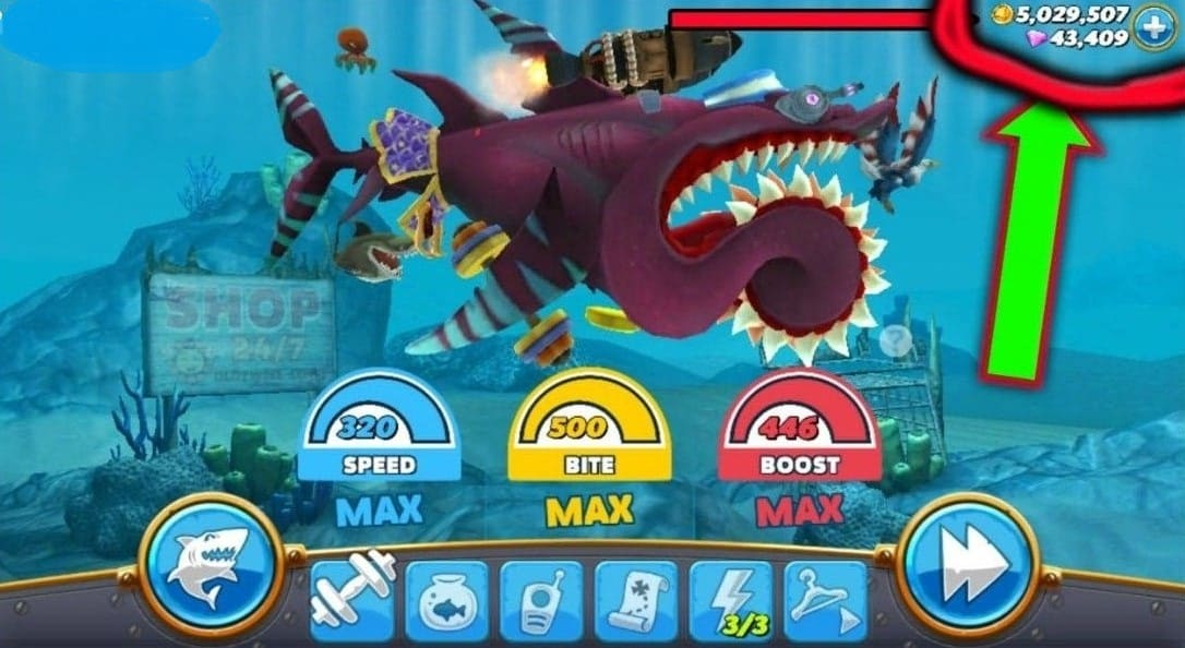 Download Hungry Shark World MOD APK Unlimited Coins and Diamonds 2021 Latest Version