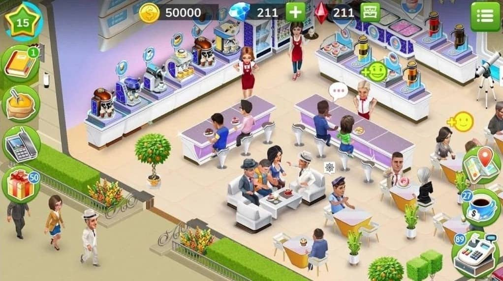 Download My Cafe MOD APK Unlimited Coins And Diamonds 2021 Latest Version